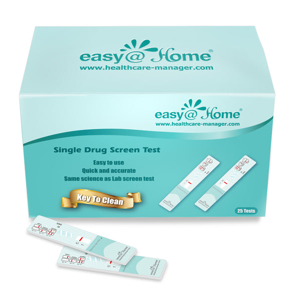 Easy@Home Single Panel Marijuana/THC Urine Drug Test EDTH-114