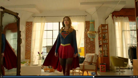 SEE OUR CUSTOM KARA CHANDELIER ON THE HIT SHOW Supergirl that airs on CBS