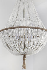 Brigitte - Hand Blown Glass Empire Chandelier - Au Courant Interiors