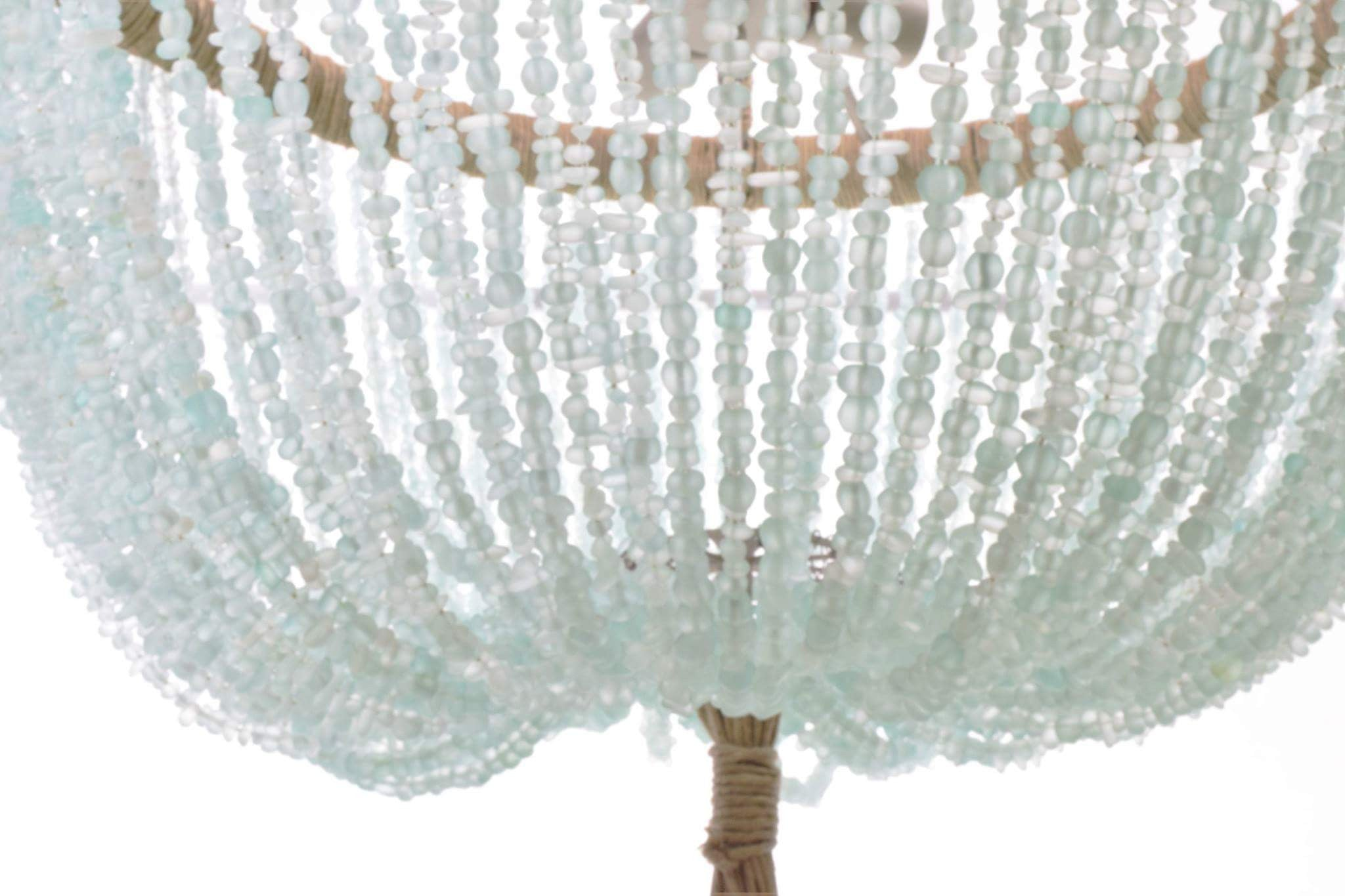 Francois Sea Glass Open Chandelier