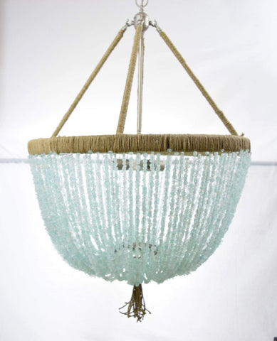 Francois - Sea Glass Open Chandelier