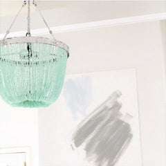 Francois - Sea Glass Open Chandelier - Au Courant Interiors