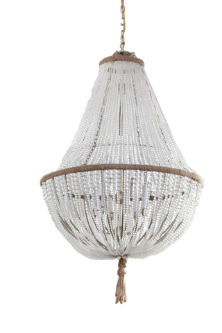 Brigitte - Frosted Glass Empire Chandelier