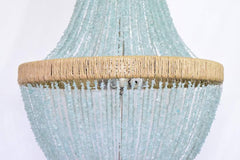 Felice - Sea Glass Empire Chandelier Pebbles - Au Courant Interiors