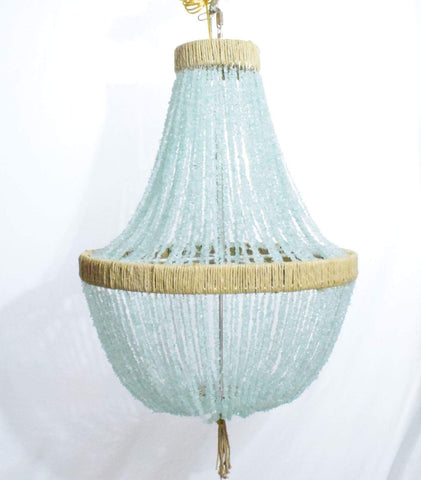 Felice - Sea Glass Empire Chandelier Pebbles