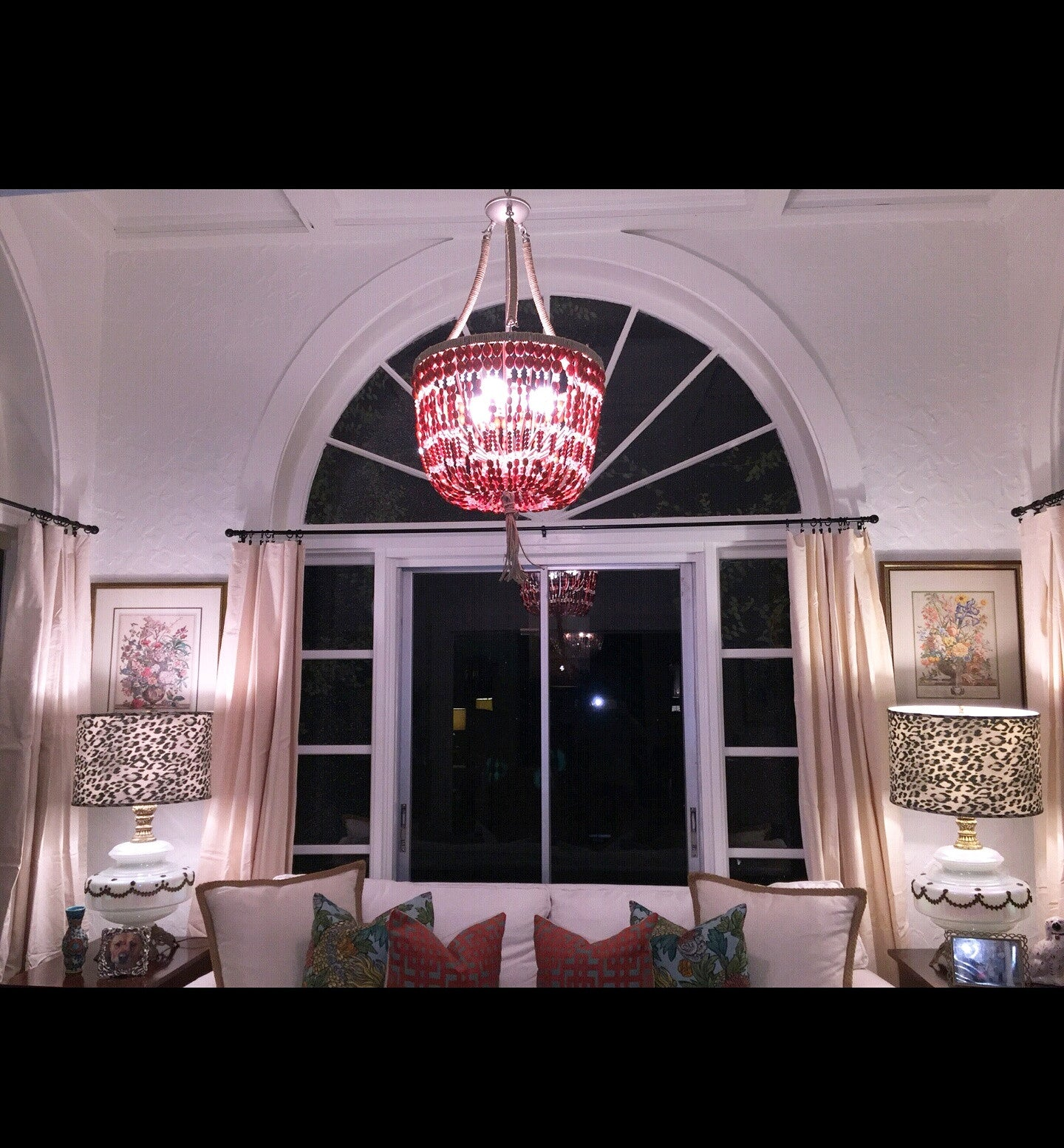 Zoran 2 light white turquoise open chandelier au courant interiors erica coral stone open chandelier au courant interiors aloadofball Image collections