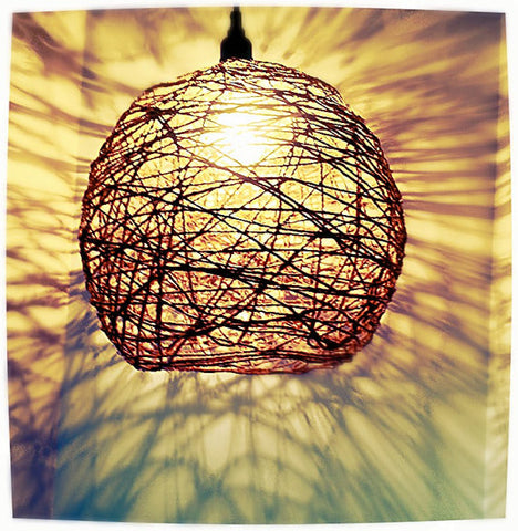 Cosette -   Pendant Twine Ceiling Light - 20