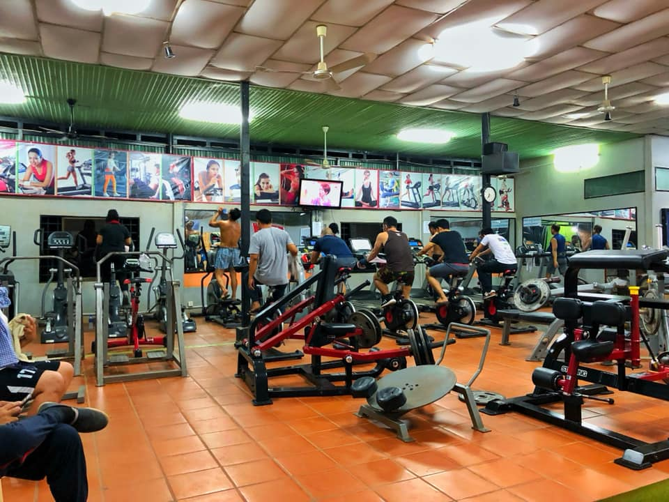 Angkor Muscle Gym sports equipment
