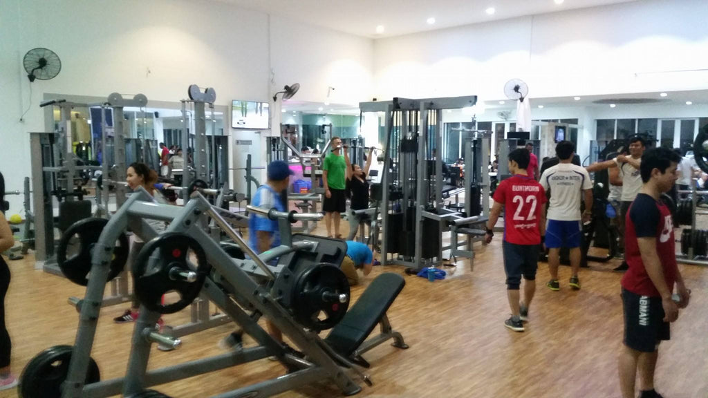 Angkor Fitness Siem Reap Gym Interior