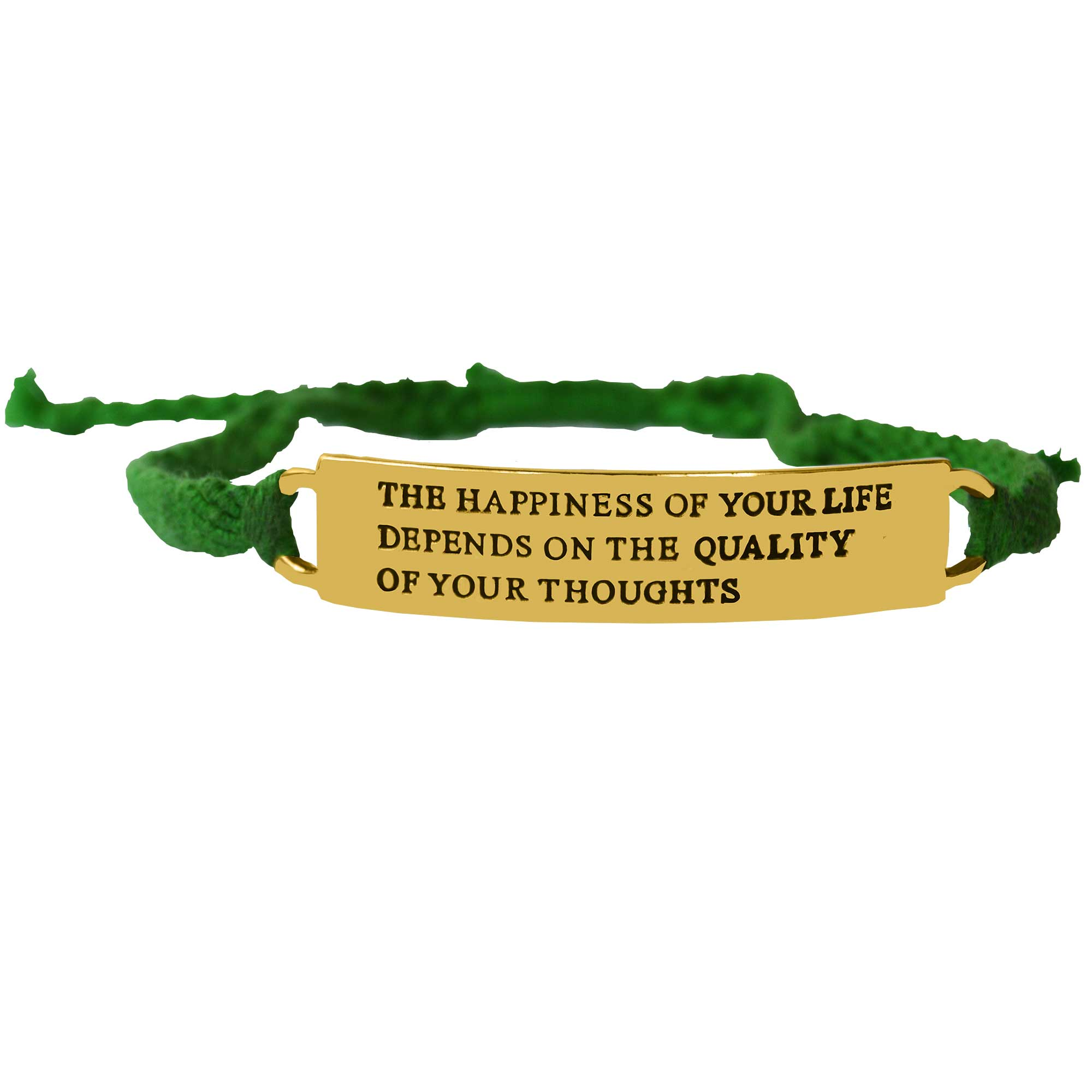 Mindfulness Quote Bracelet