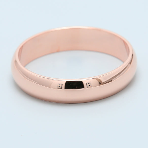 14k Rose Gold High Polish Band - 1477 Jewelers