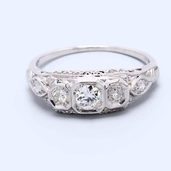 Antique Diamond Band - 1477 Jewelers