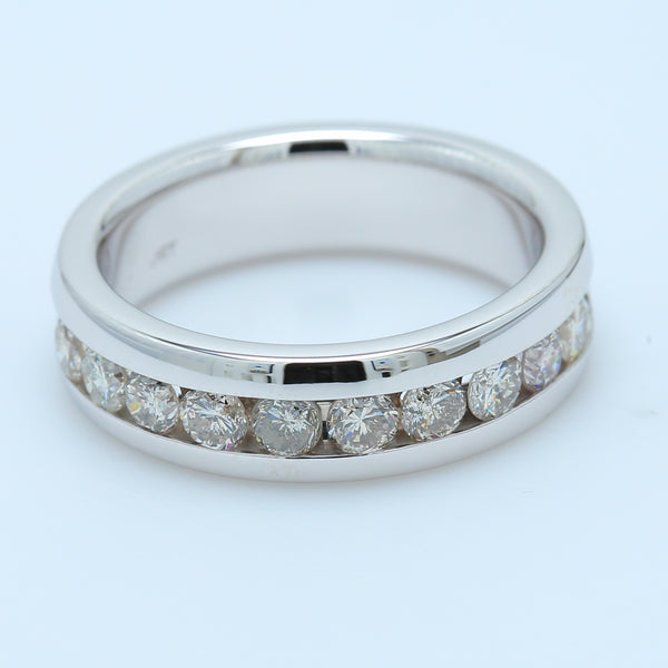 1.10ct Round Diamond Men's Band - 1477 Jewelers