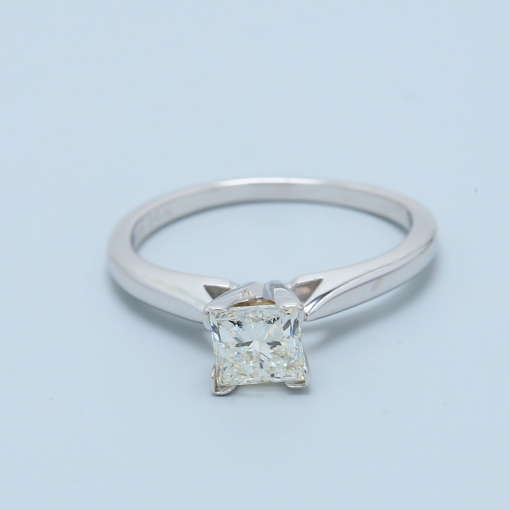 3/4ct Radiant Diamond Solitaire Engagement Ring - 1477 Jewelers