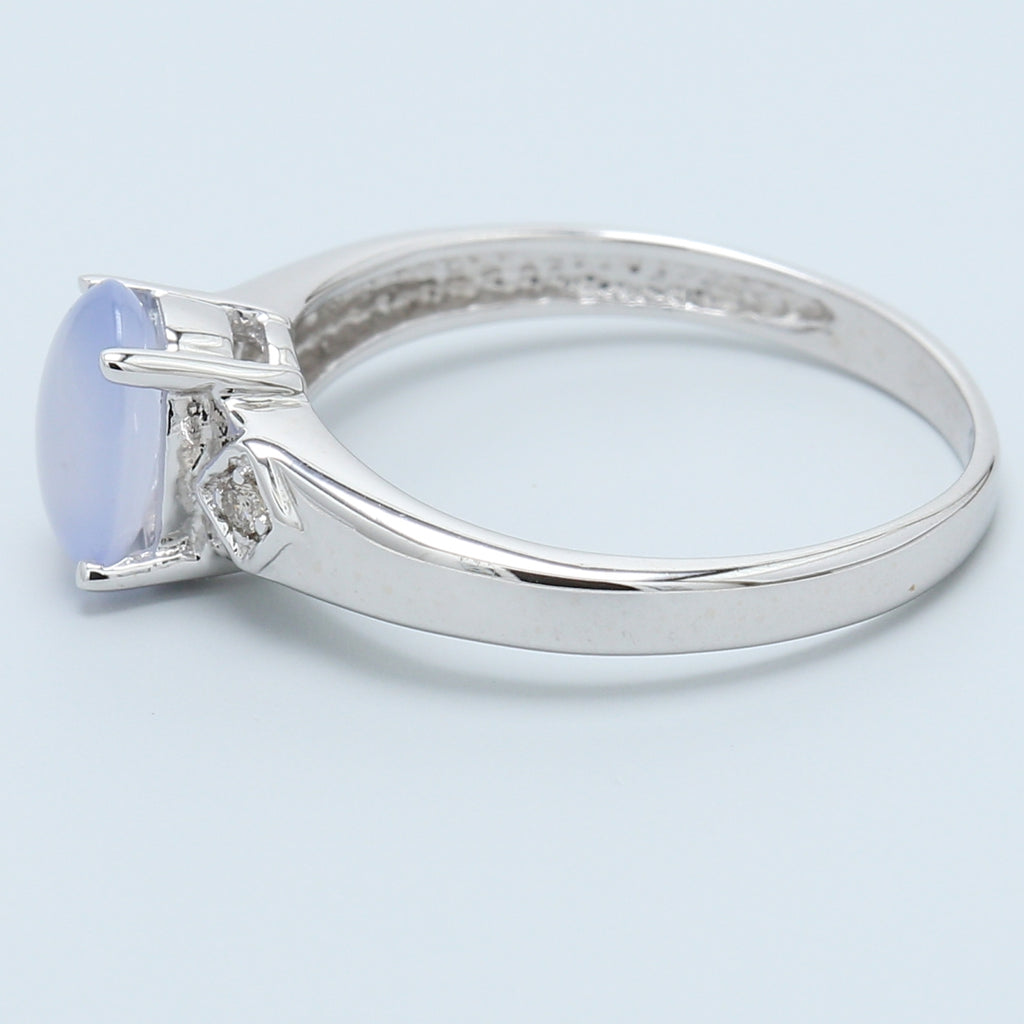 Moonstone and Diamond Ring - 1477 Jewelers