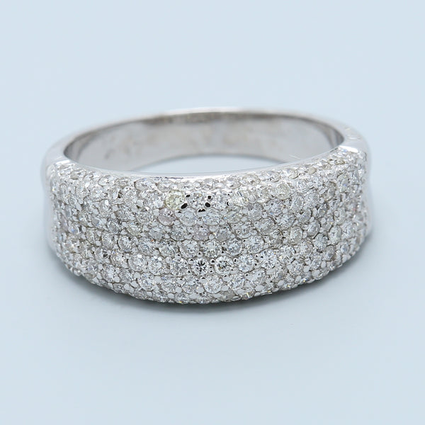 Gottlieb and Sons Pavé Diamond Band - 1477 Jewelers