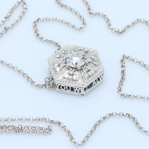 """You Will Always Be A Star"" Diamond Necklace - 1477 Jewelers"
