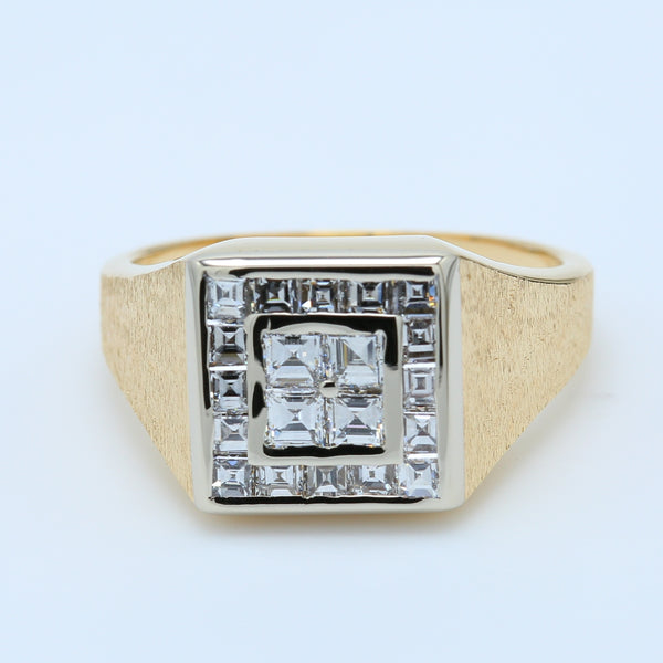 Men's Vintage 2.24ct Diamond Ring - 1477 Jewelers