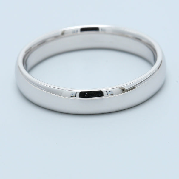 14k White Gold Wedding Band - 1477 Jewelers