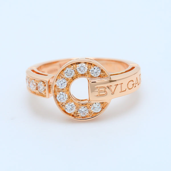 BVLGARI BVLGARI Rose Gold Ring - 1477 Jewelers