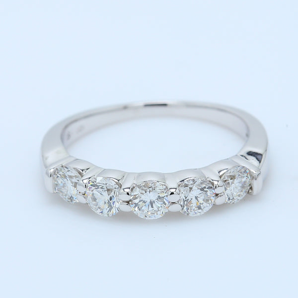 1.0ct VS1 Diamond Wedding Band - 1477 Jewelers
