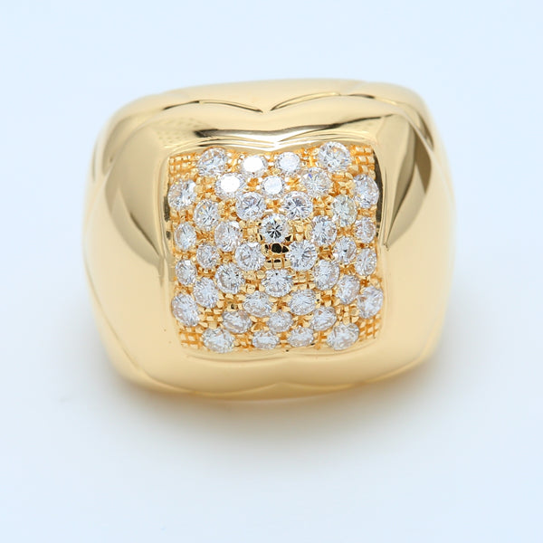 BVLGARI Pyramid Diamond Ring
