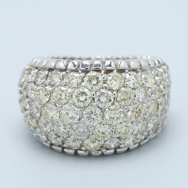 Dazzling 6 Carat Diamond Cocktail Band - 1477 Jewelers