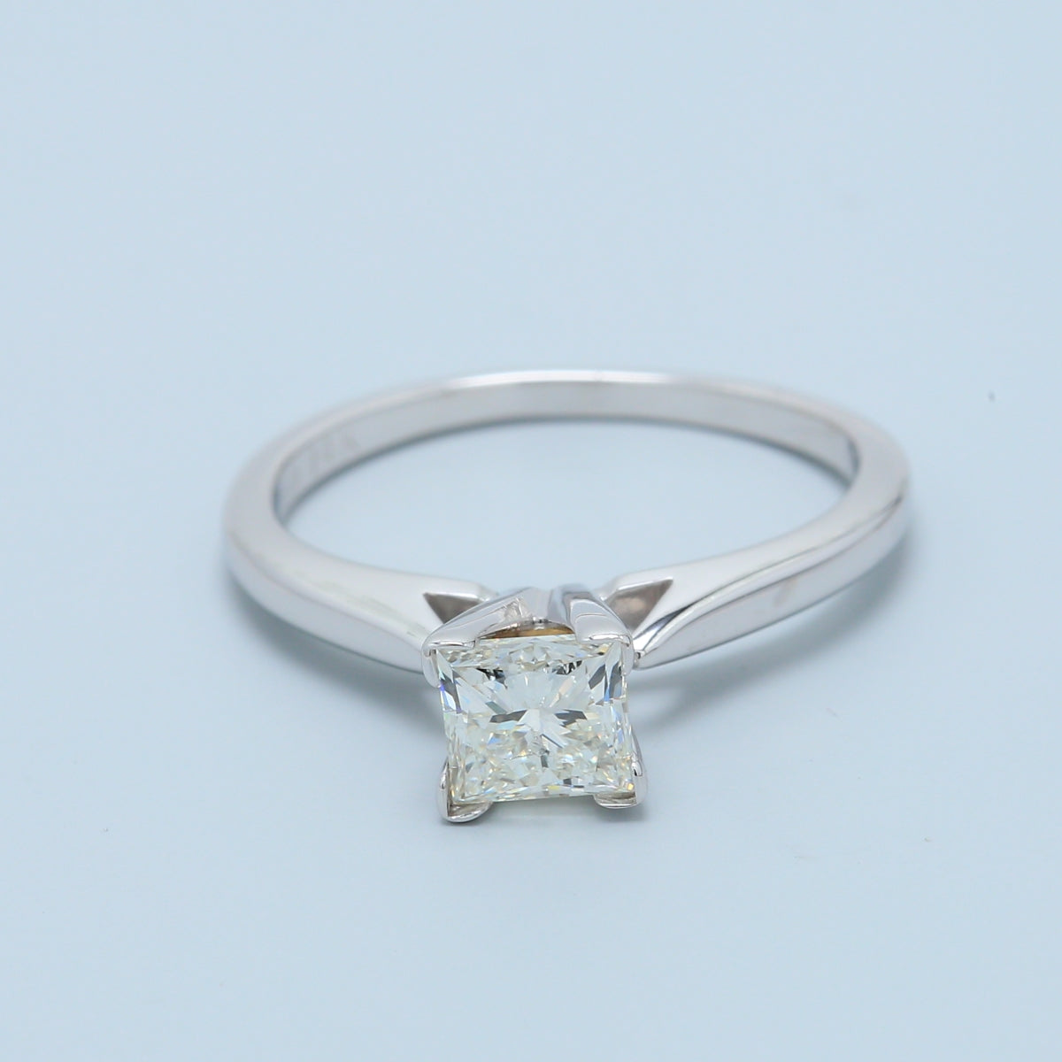3/4ct Radiant Diamond Solitaire Engagement Ring