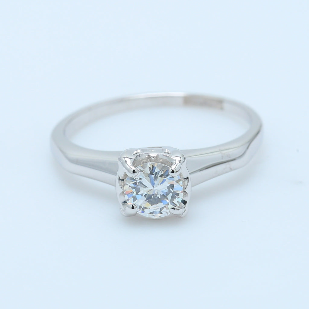 1/2ct Antique Solitaire Engagement Ring - 1477 Jewelers