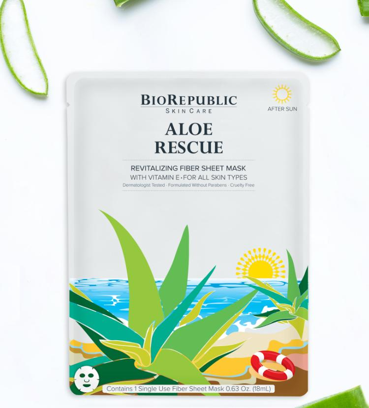 Aloe Rescue Revitalizing Sheet Mask Sheet Mask BioRepublic