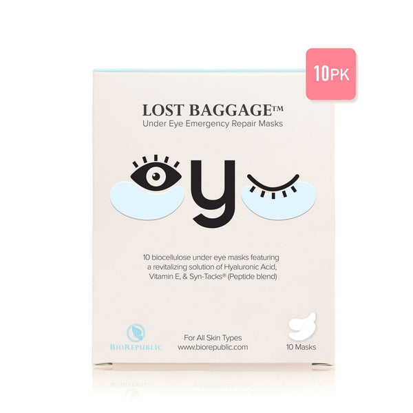 Lost Baggage Under Eye Emergency Repair Mask - Set of 10 Eye Mask BioRepublic