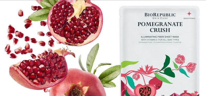 Pomegranate Crush Illuminating Sheet Mask Sheet Mask BioRepublic