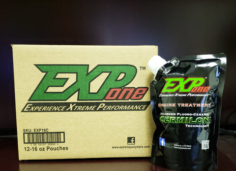 EXP One Xtreme Performance Engine Treatment / case of 12 -16 oz. pouches
