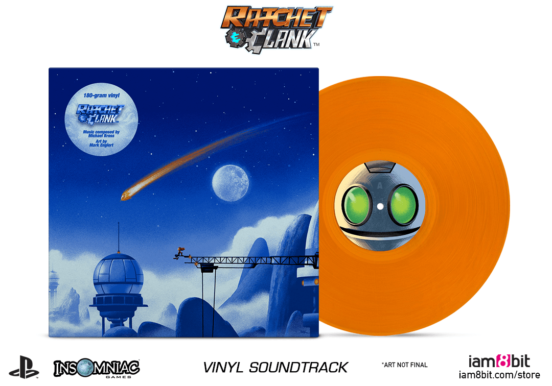 Ratchet Amp Clank Vinyl Soundtrack Iam8bit