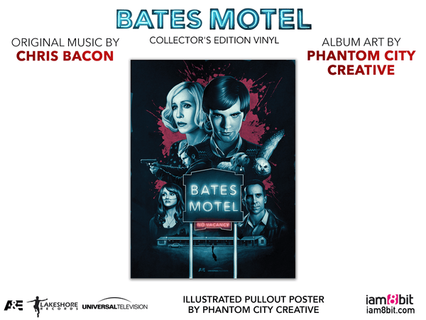 Bates Motel Collector S Edition Vinyl Only From Iam8bit