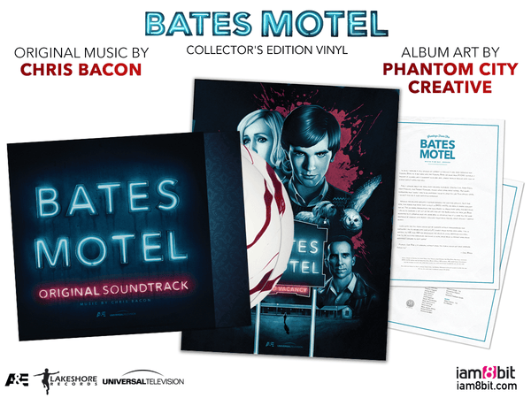 Bates Motel Collector S Edition Vinyl Iam8bit