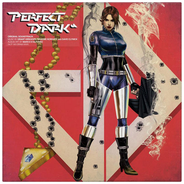 Perfect Dark Vinyl Soundtrack 2xlp Iam8bit