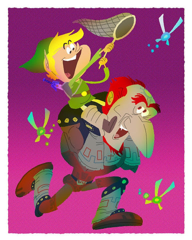 Everybody Loves a Good Villain:    Hyrule Happiness By Gabe Swarr