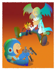 Everybody Loves a Good Villian:     Robot Pals By Gabe Swarr