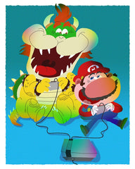 Everybody Loves a Good Villian:    Super Game Bros. By Gabe Swarr