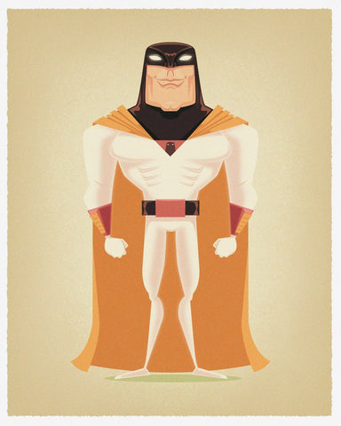 Space Ghost by James Gilleard