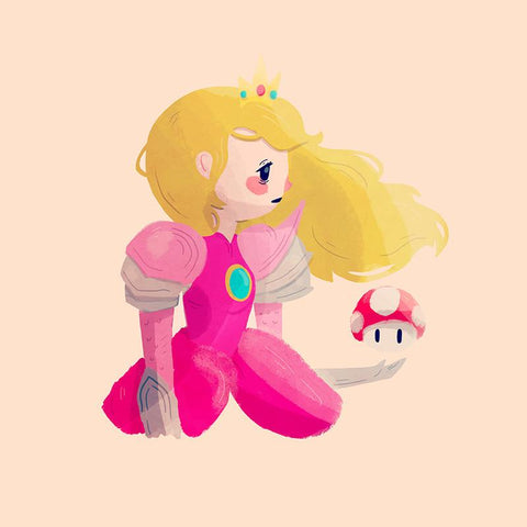 Peach, Warrior Princess by Nan Lawson