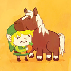 Play Mates: Link & Epona By Philip Tseng