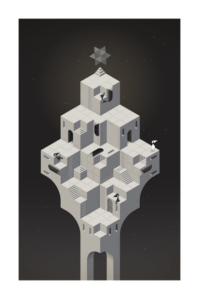 Monument Valley Multistable Perception Fine Art Print
