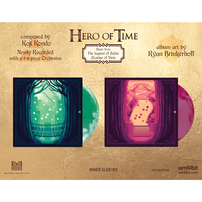 Hero of Time 2xLP (Music from The Legend of Zelda: Ocarina of Time