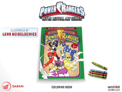 Power Rangers: An OG Color/Activity Book