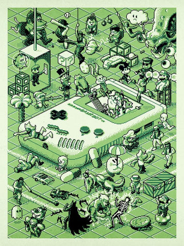 Game Boy by Aled Lewis
