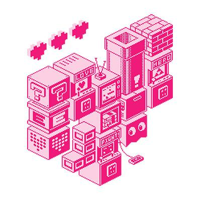 ISOMETRIC LOVE by Drew Wise