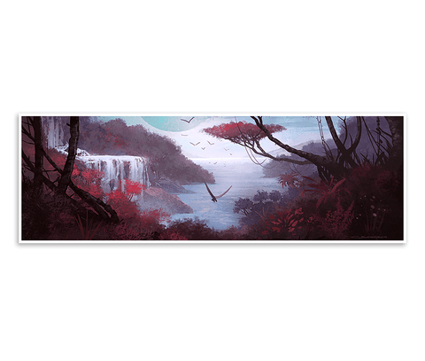 Undiscovered Land Giclée Print (No Man's Sky)