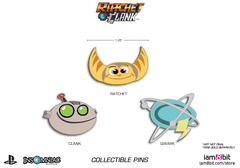 Captain Qwark Pin (Ratchet & Clank)